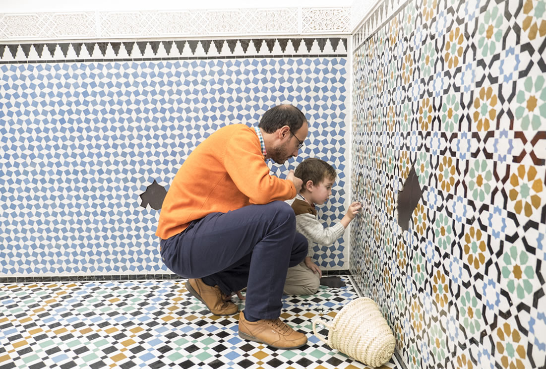 moroccan and moorish tiles