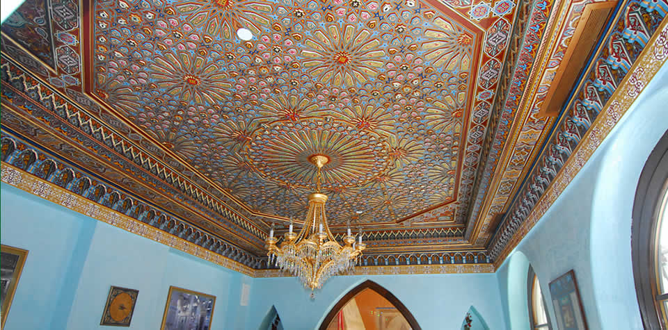 Moroccan Carved Wood Ceilings And Dooms